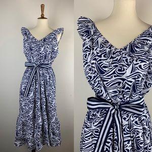 Vineyard Vines for Target Dress Blue White